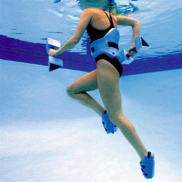 Deep Water Running is the closet non-impact activity you'll find to actual running. Bonus: water resistance helps burn more calories.