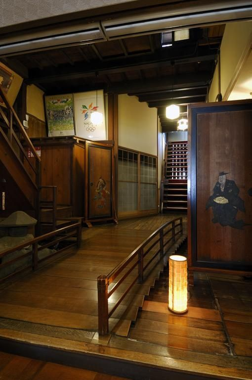 A Walk From Zenko Ji Temple Japanese Style Inn Chuokan Shimizuya Ryokan Stands With History Of Over 160 Years