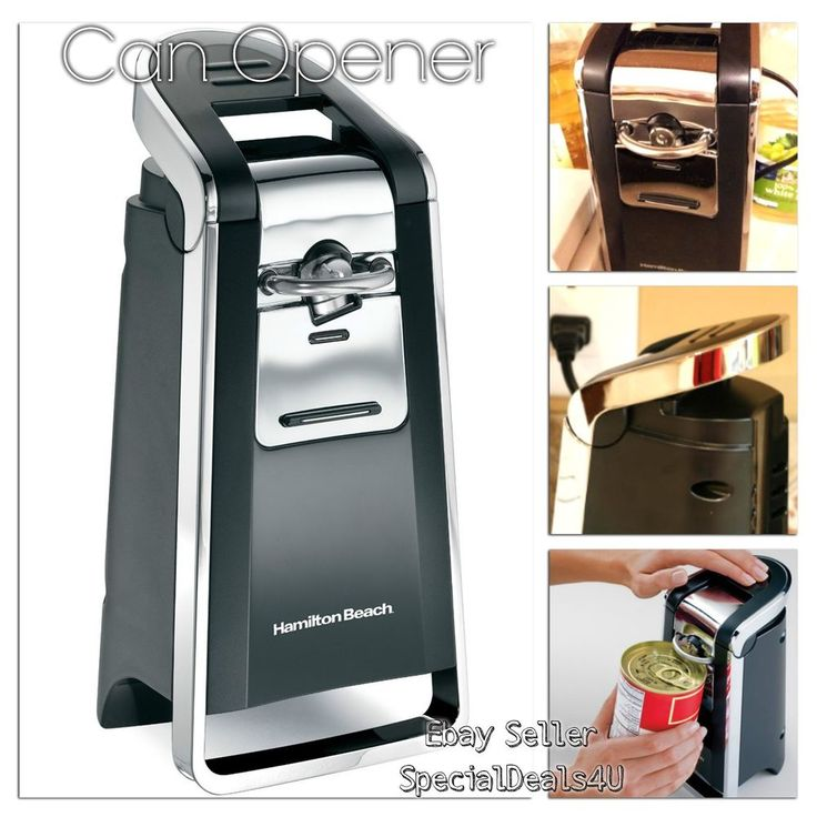 1000 Ideas About Electric Can Openers On Pinterest