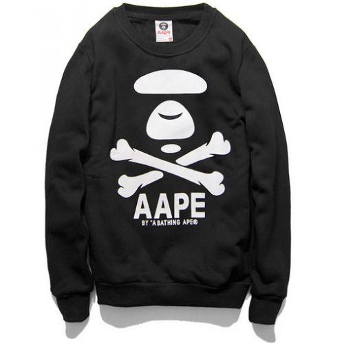"""Noticeably you! in your AAPE """"Cross Bone"""" Sweater   http://superdap.com/outerwear/sweaters/aa pe-cross-bone-sweater-black  #aape #streetwear #streetfashion #urbanwear #aapecrossbone"""