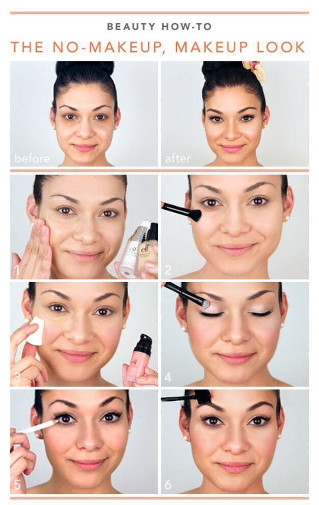 The Most Straightforward Makeup Looks Are Sometimes The Best Ones To Get This Look All You Need To Do Makeup Looks Tutorial Dark Hair Makeup Makeup Tutorial