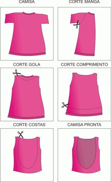 Camisetas Customizadas (80 Fotos) – Ideias de Customização