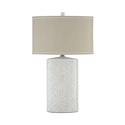 Signature Design by Ashley Antique White Ceramic Table Lamp by Signature Design by Ashley