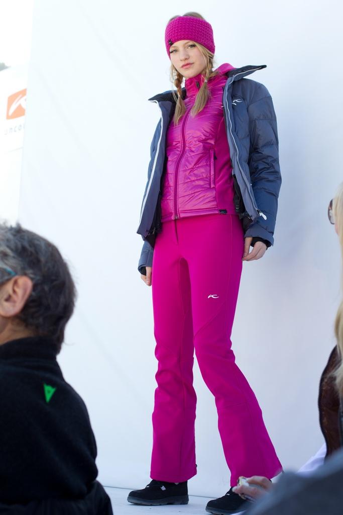 Pink #snowfox