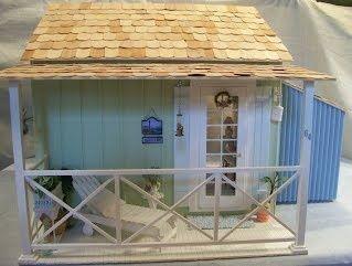 cabane de plage miniature