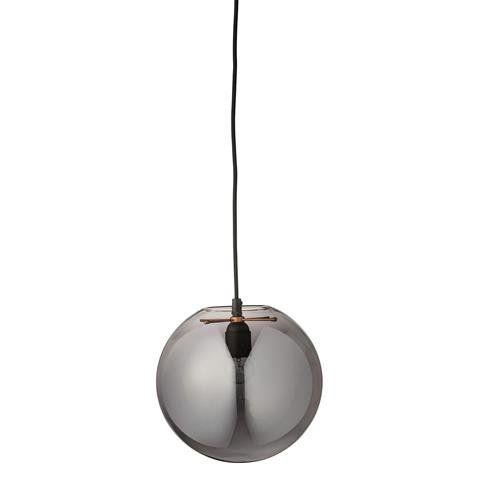 Bloomingville hanglamp glas grijs