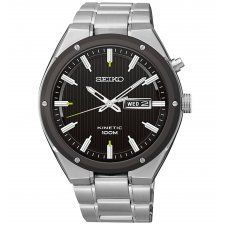Seiko Gents S/Steel Kinetic Watch SMY151P1