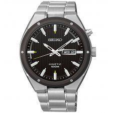Seiko Gents S/Steel Kinetic Watch SMY151P1