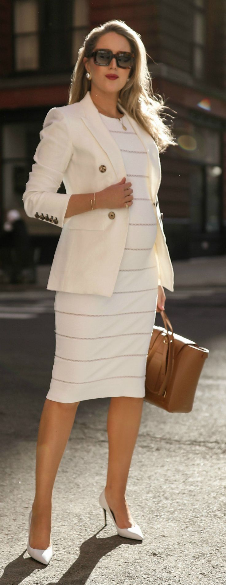 Arbeitskleidung für Schwangere: 9 Must-Haves für jede Schwangere // Weißes …  – MEMORANDUM