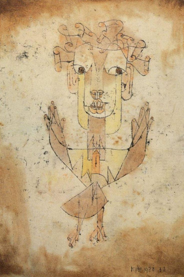 Angelus Novus   Paul Klee