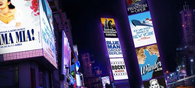 Bis zu 100€ Rabatt auf Musical Tickets, z.B. König der Löwen, Blue Man Group, Mamma Mia uvm.