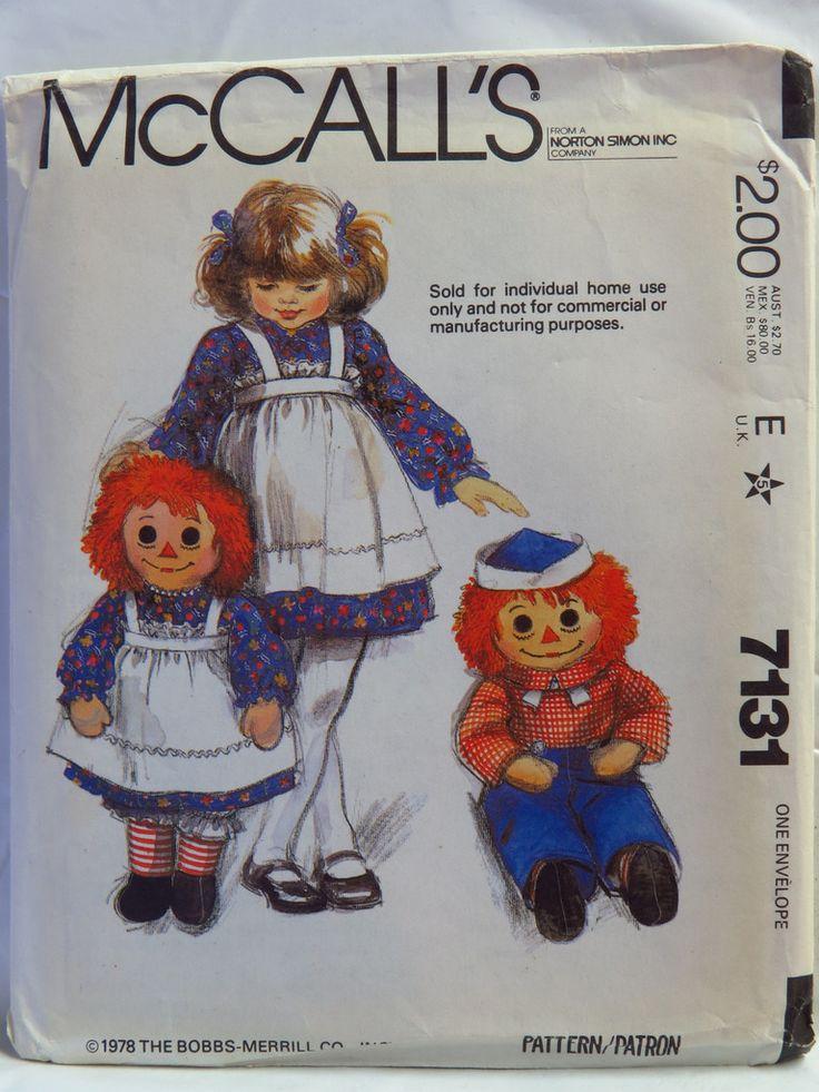 17 best Raggedy Ann & Andy Doll Patterns images on Pinterest ... : raggedy ann quilt pattern - Adamdwight.com