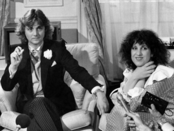 David and Elizabeth Emanuel the dress designers of Princess Diana's gown.
