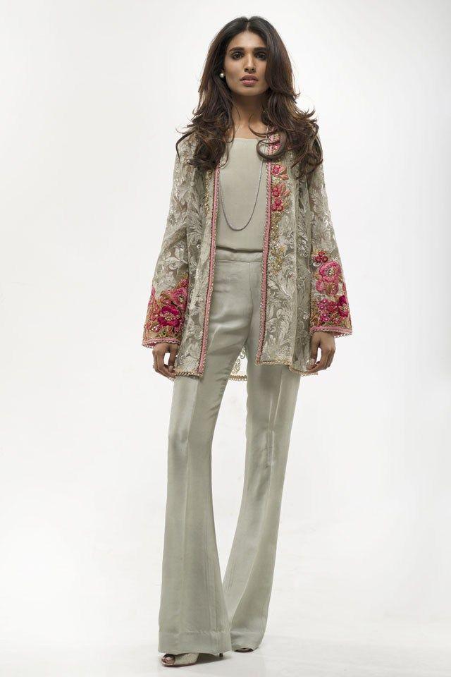 Stylish Sania Maskatiya Eid Clothes Collection 2016