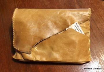 Rocky Mountain Custom Leather handmade checkbook portfolio