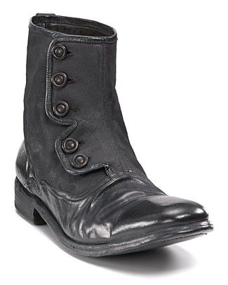 """John Varvatos """"Bowery"""" Button Boots.  Well those are perfect.  They will be mine."""