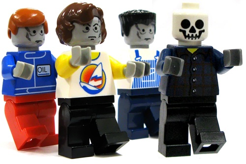 They're coming from everywhere! #Lego #Zombies #Doomsday