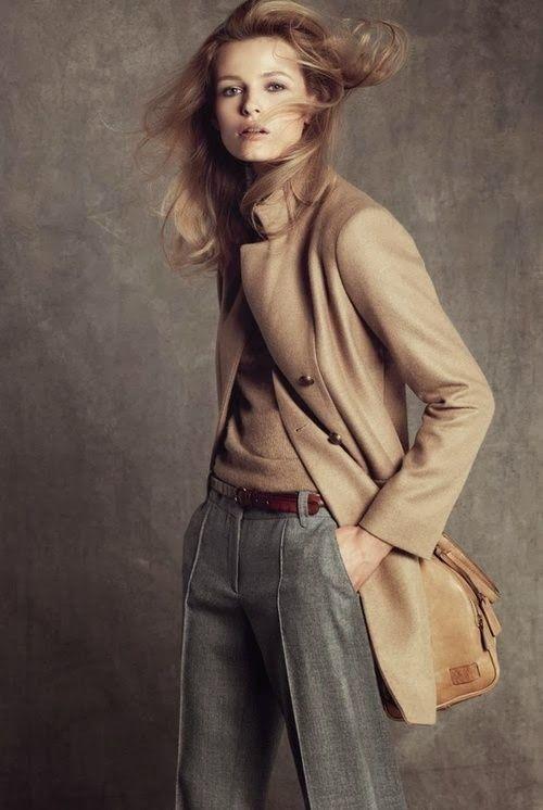 Moda per principianti: Abbinare grigio e beige