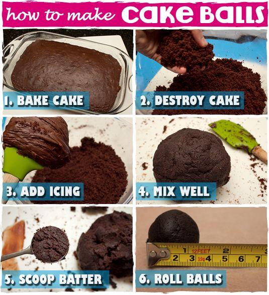 How To Make Cake Balls - sugarkissed.net