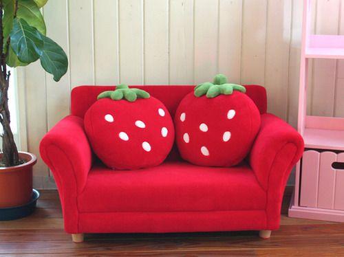 Super cute #Strawberry #Cushions