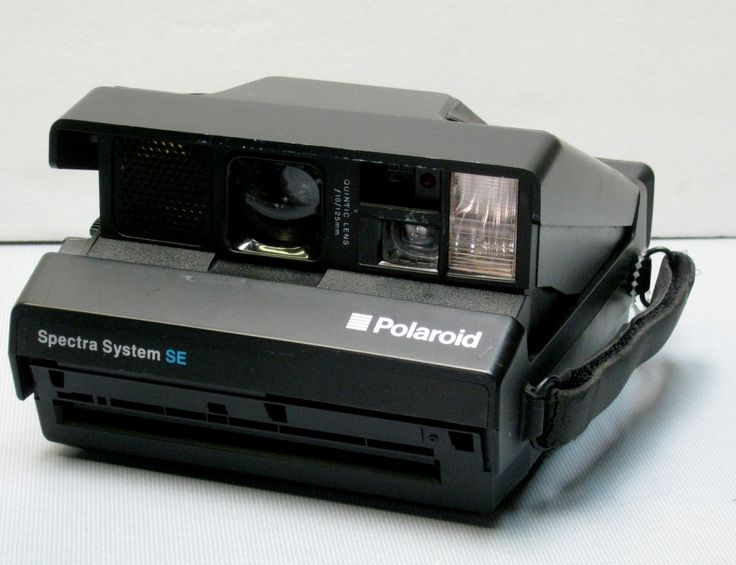 Vintage Working Black Polaroid Spectra System SE Instant Film Camera for…