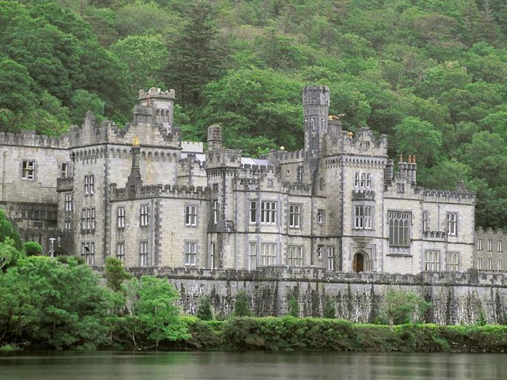 Kylemore Abbey: Random Pictures, Favorite Places, Galway Ireland, Kylemor Abbey, County Galway, Places I D, Irish Castles, Around The World, Travel