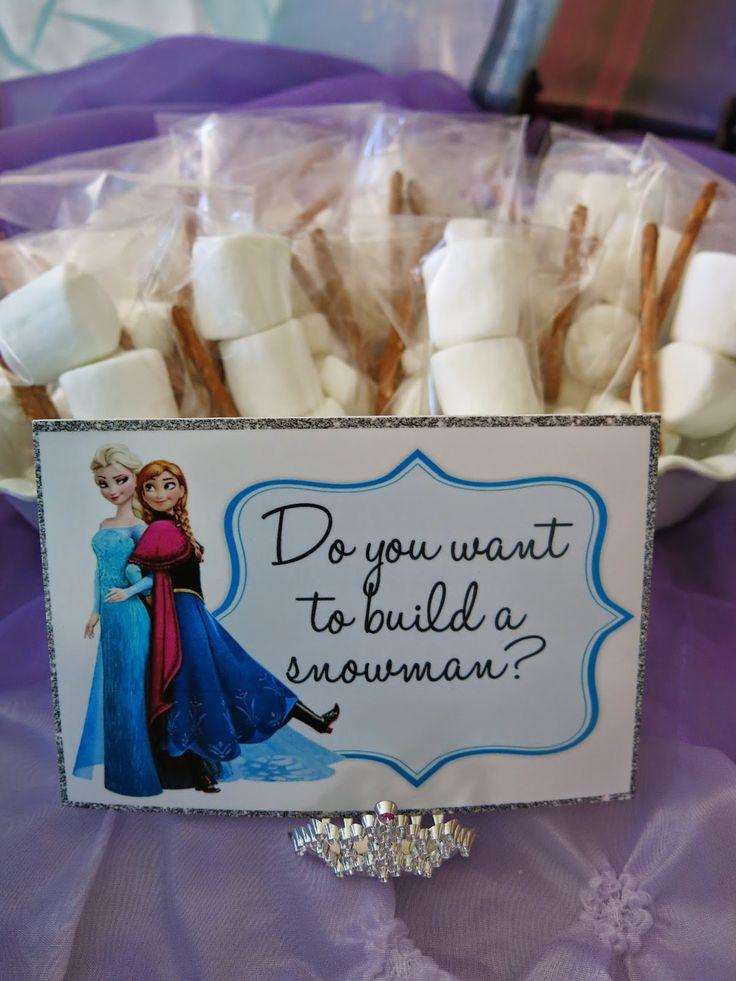 Purple Chocolat Home: Elsa's Frozen Party Tablescape