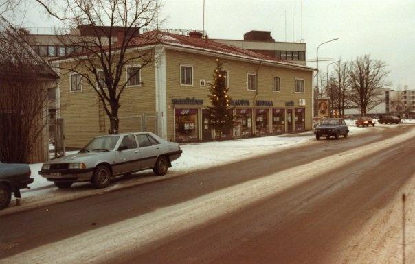 Ahonmaan kauppa, nykyinen sokos 1983