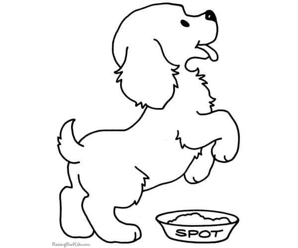 Resultado De Imagen Para Perro Para Colorear E Imprimir Paginas Para Colorear De Animales Dibujos De Perros Paginas Para Colorear