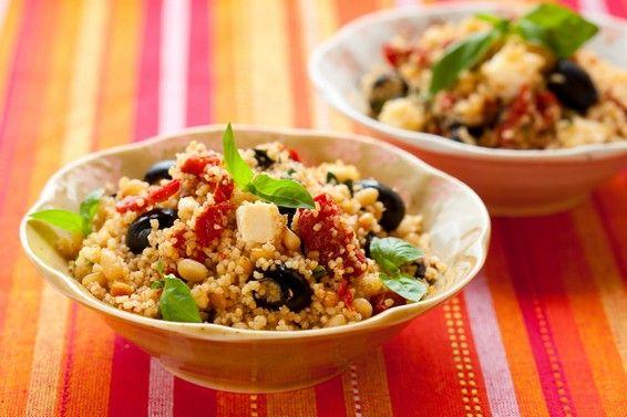 MealDish  - Roasted pumpkin and couscous salad