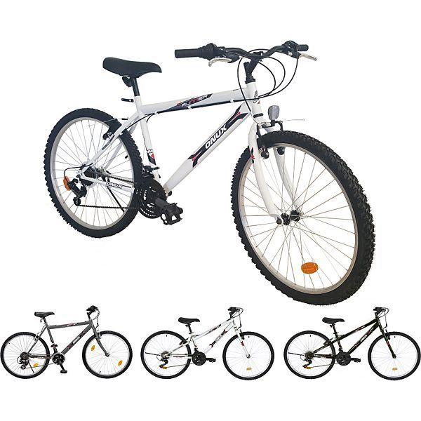 ONUX Mountainbike 26 Zoll, 18 Gang Shimano / MTB, Herren, Damen, Jugend