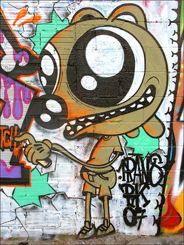 Граффити. Уличное искусство (50 Фото)