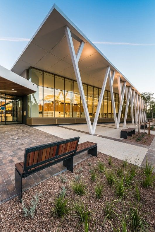 Walkerville Civic & Community Centre in Gilberton by JPE Design Studio