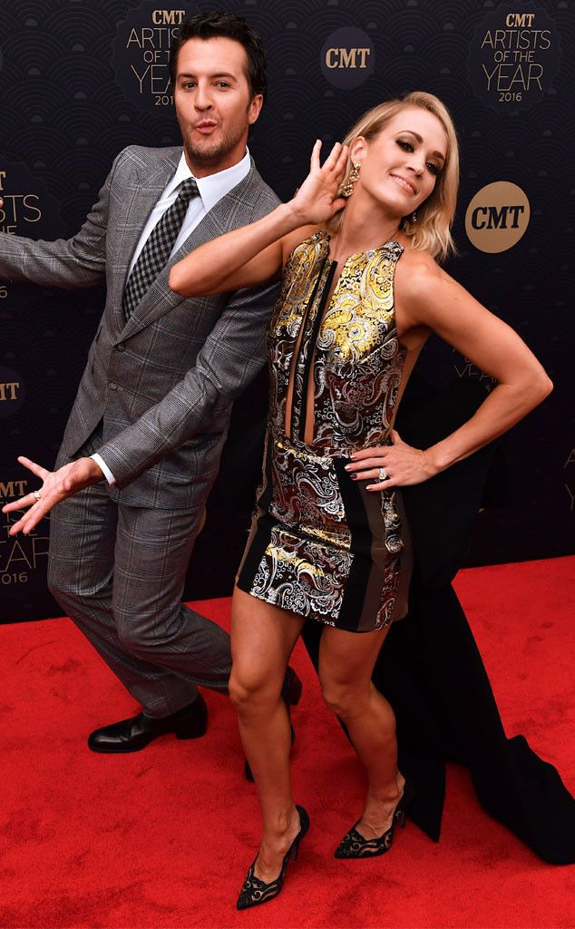 Country comics! The music stars get silly on the carpet for the CMT Artists of the Year in Nashville.