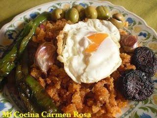 Mi Cocina: MIGAS DE LOS MONTES DE MALAGA