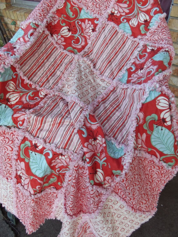 Rag Quilt Color Ideas : Rag quilt Fun stuff to make Pinterest Quilt, Colors and The o jays