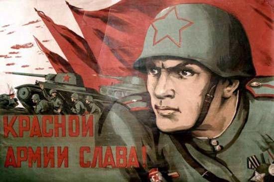 26.¡Gloria al Ejército Rojo!