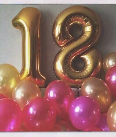 1000 ideas about happy 17th birthday on pinterest 17th for Balloon decoration ideas for 18th birthday