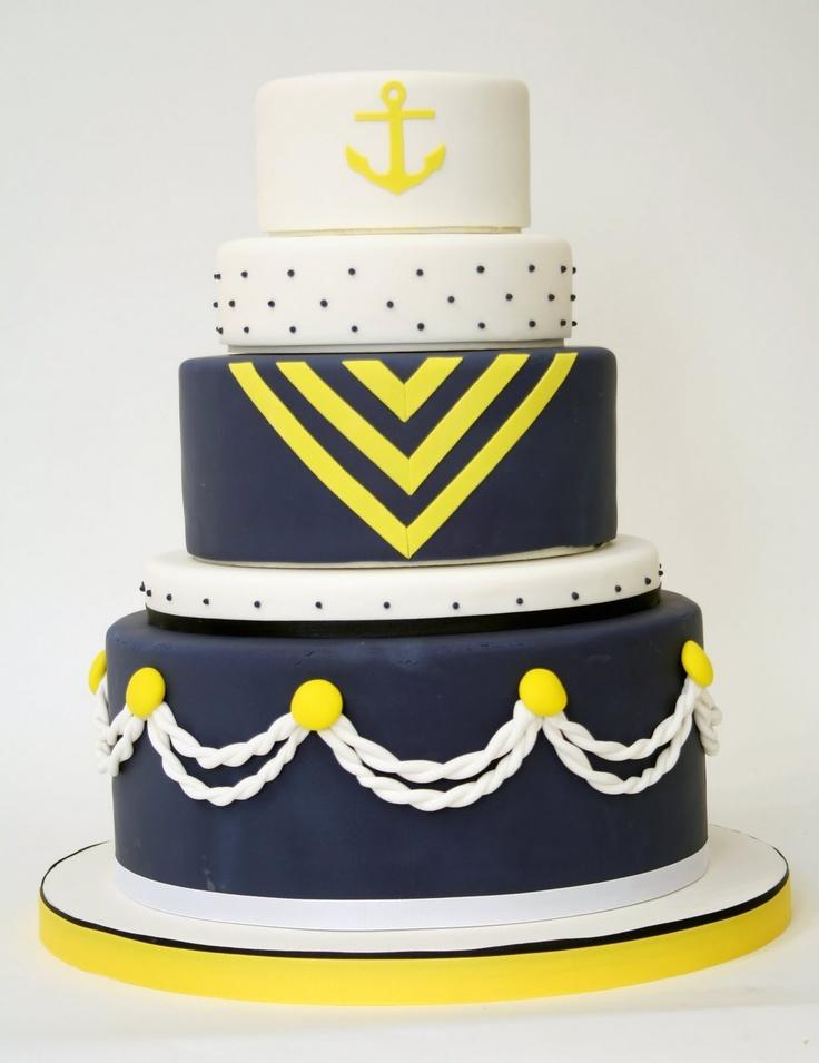 Charm City Marine Corps Cake