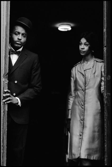 Leonard Freed - During a Fashion shooting. Brooklyn, 1963