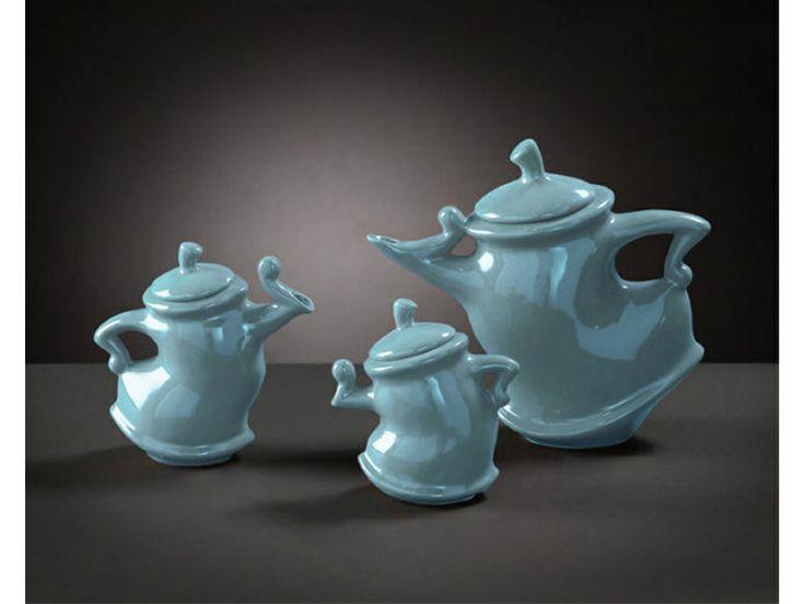 Howard Elliott Accessories Baby Blue Whimsical Tea Pots 1887 1 The Hanley Collection Spokane Wa Tea Pot Set Tea Tea Pots