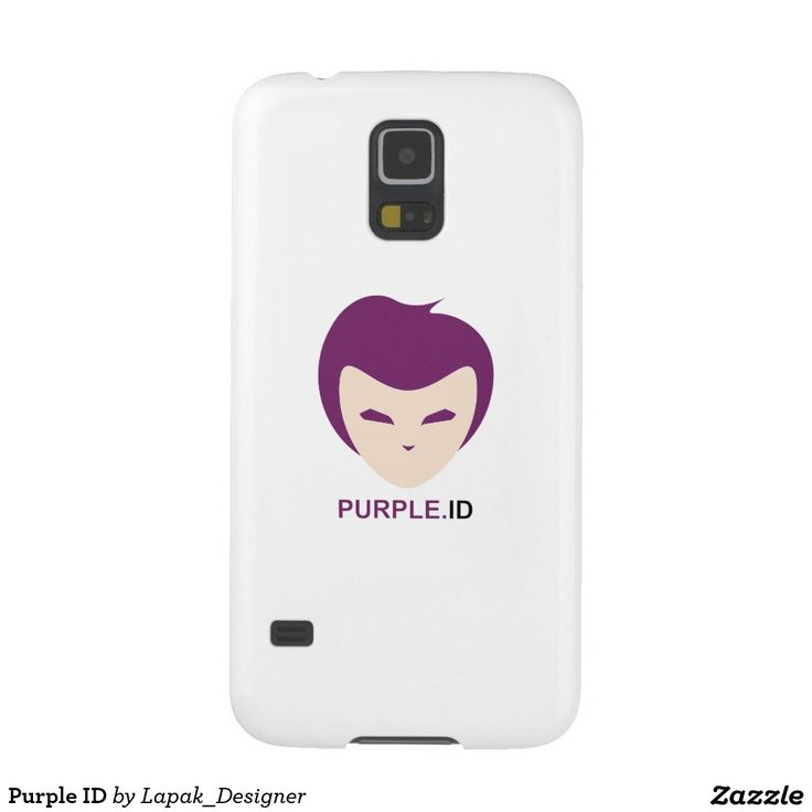 "My ""Purple ID"" Cases For Galaxy S5 on Zazzle"
