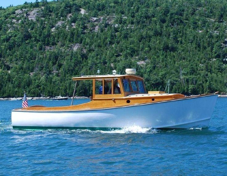 2007 Gannon and Benjamin Downeast Cruiser Motor Boot zum Verkauf - www.yachtworld.de