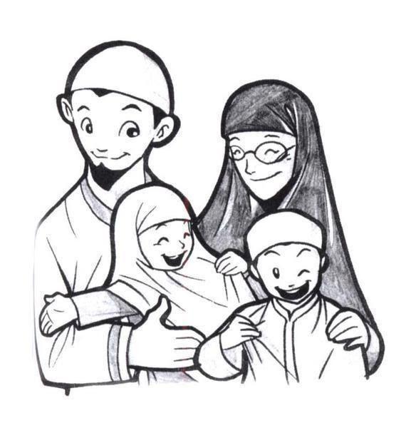 21 Gambar Orang Kartun Keluarga Berikut Adalah 10 Koleksi Gambar Keluarga Bahagia Versi Gambar Kartun Yang Keren Kartun Muslim K Di 2020 Sketsa Kartun Foto Keluarga