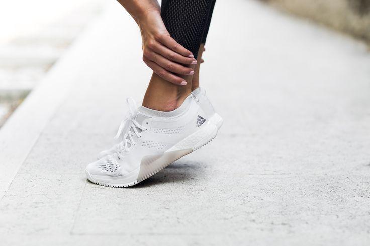 White Adidas Shoes