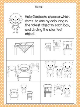 Students can measure characters from this fairy tale using standard and non-standard units of measurement.