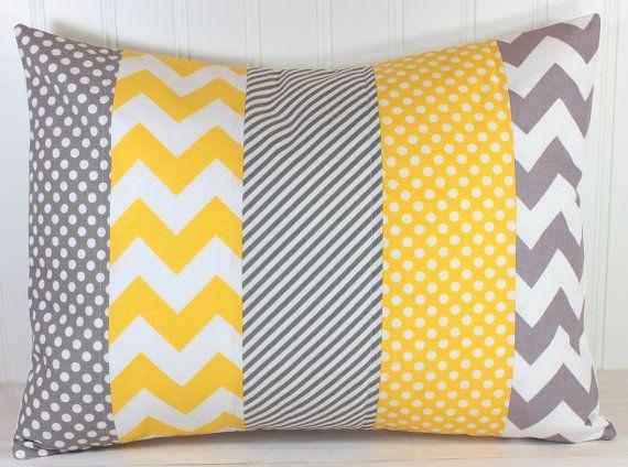 Nursery Pillow Cover Couch Pillow Decorative par theredpistachio
