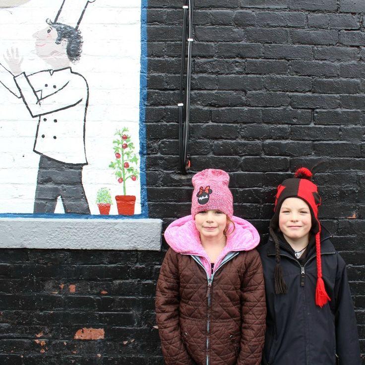 We love a bit street art.
