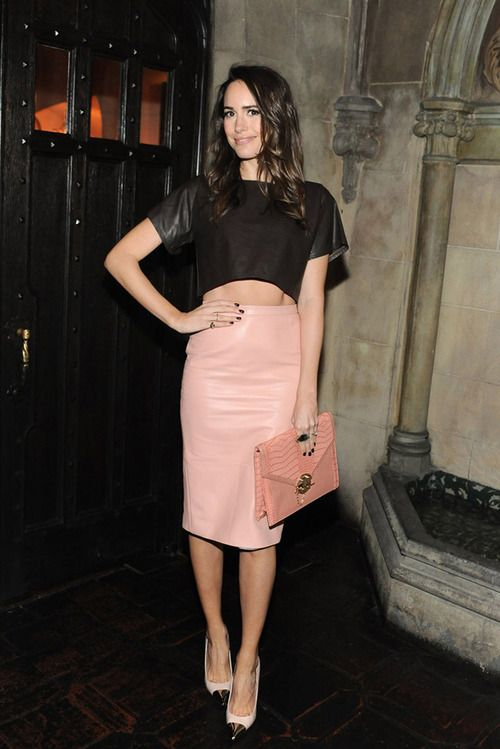 11 best Pink pencil skirt images on Pinterest
