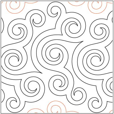 """A single row is 12"""" wide– printed with one row – 144"""" long© 2014 Patricia E. Ritter* This design is available in both paper and digital. Please select your preference below.NOTE:  All digital designs include the following conversions: CQP, DXF, HQF, IQP, MQR, PAT, QLI, SSD, TXT, WMF and 4QB or PLT. Most designs also include a DWF, GIF and PDF.This pattern was converted by Digitech."""